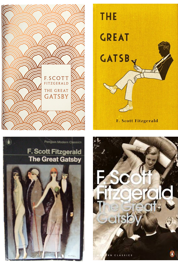 Great Gatsby Bookcovers