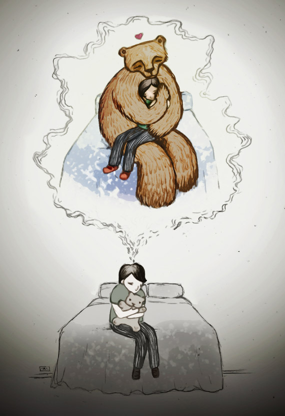Bear Hug by Helen Askew