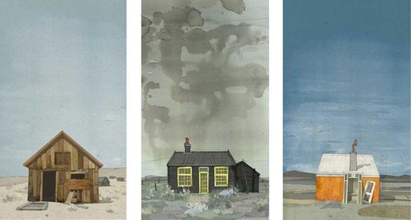 Cabin Triptych Dan Seex