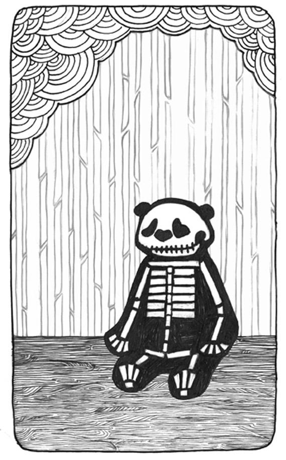 Panda Bones by Helen Askew
