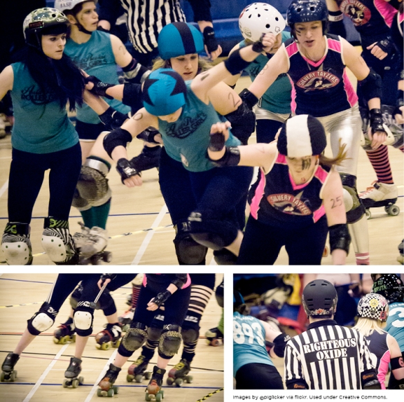 ARRG vs Dundee Roller Girls